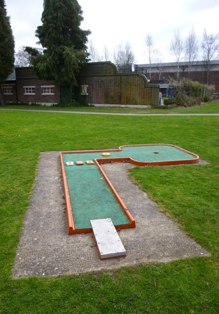Crazy Golf in Tamworth, Staffordshire