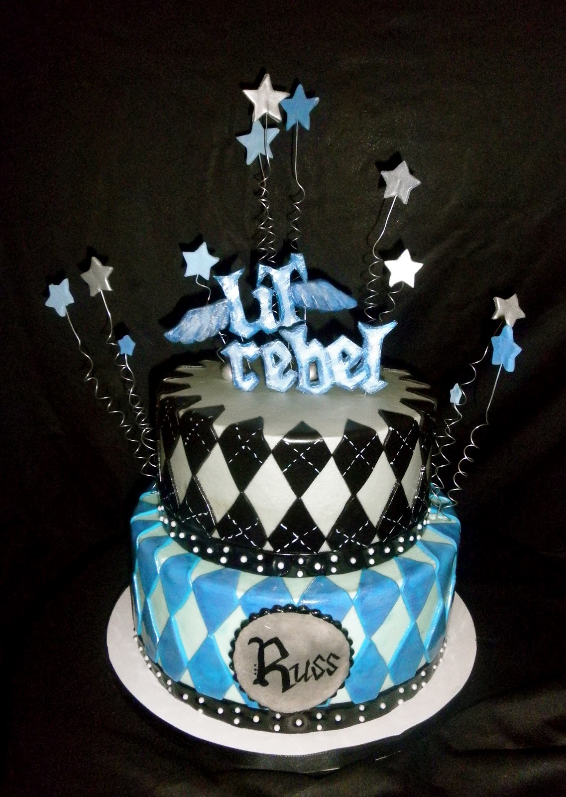 Sweet K Cake Design : Sweet T s Cake Design: Lil  Rebel 1st Birthday Cake and ...