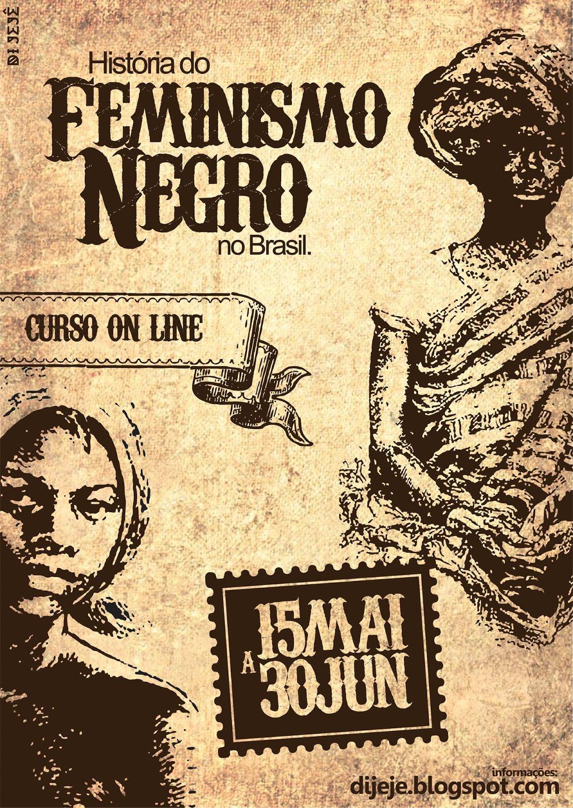 Curso on line A história do feminismo negro no Brasil