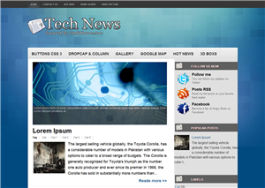 Apple Tech Blogger Template