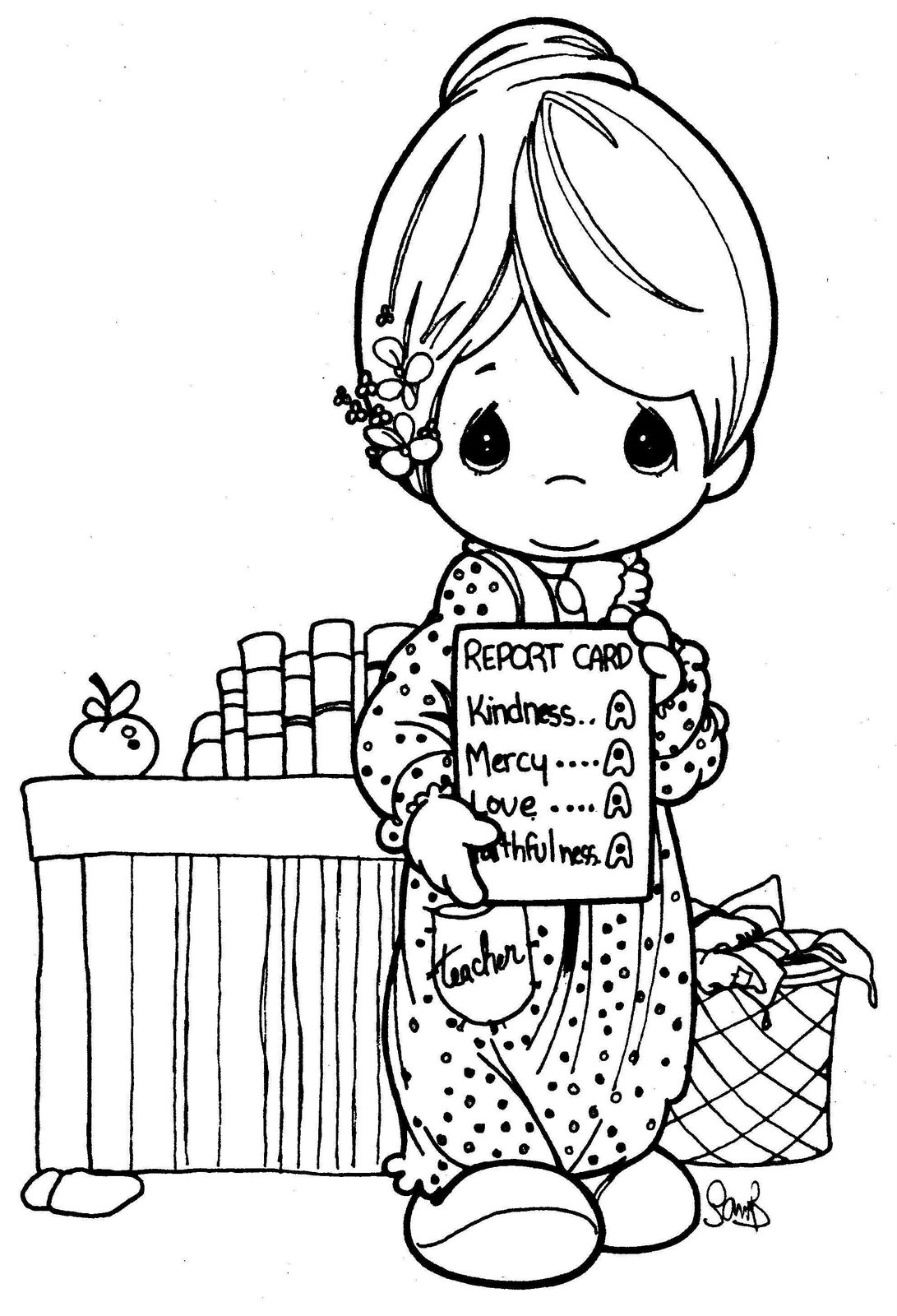 Lujo Preciosos Momentos Para Colorear Libros Adorno - Dibujos Para ...