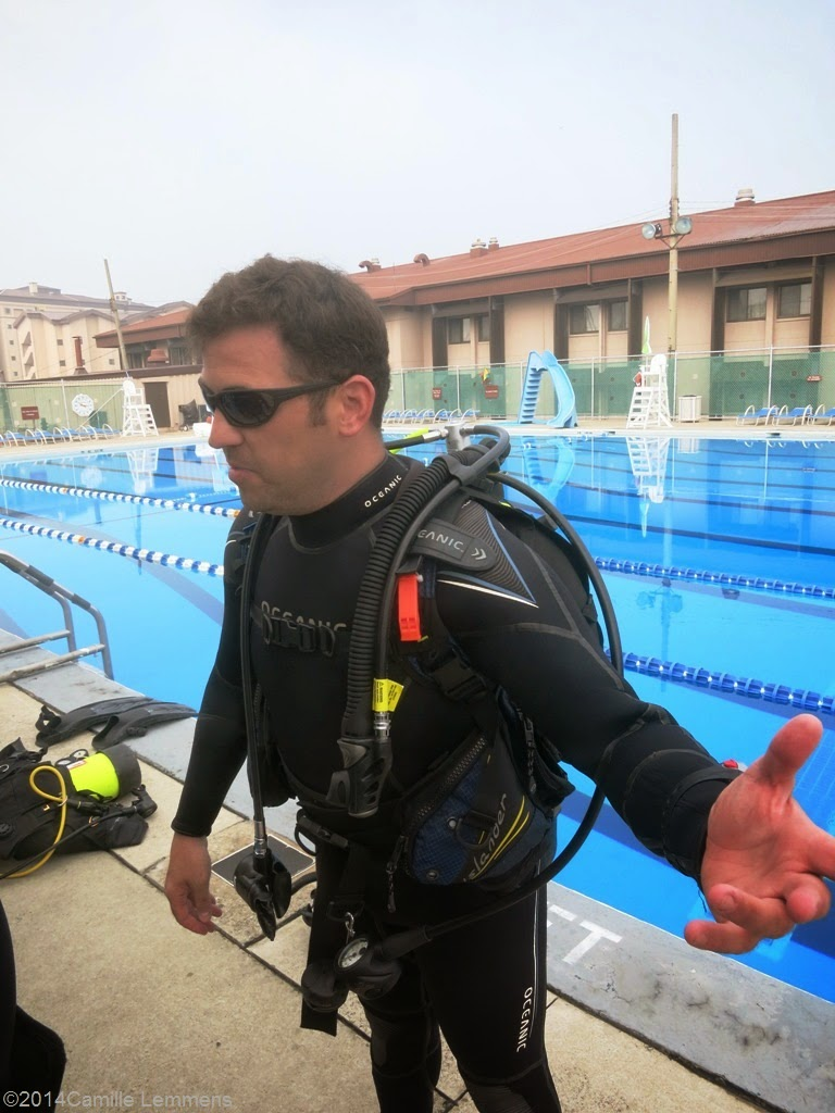 PADI IDC, confined water
