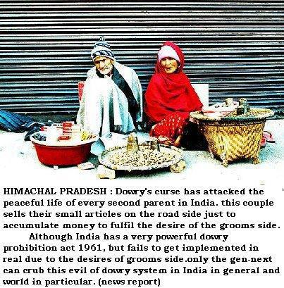 dowry a curse To eradicate dowry, there is a need of gender equality because gender inequality is a very big reason behind increasing this curse social awareness campaign through social media and mass media is also needed to distort the effect of it and finally some strong initiatives and programs by the government regarding awareness and imprisonment of.