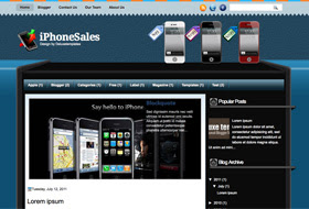 iPhoneSale Blogger Template