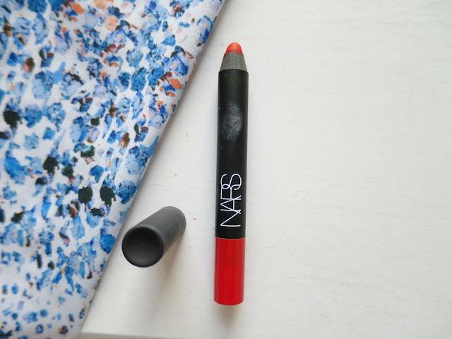 Beauty Perfect Lipstick High End NARS Velvet Matte Lip Pencil Red square