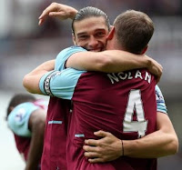 Kevin Nolan and Andy Carroll, West Ham United