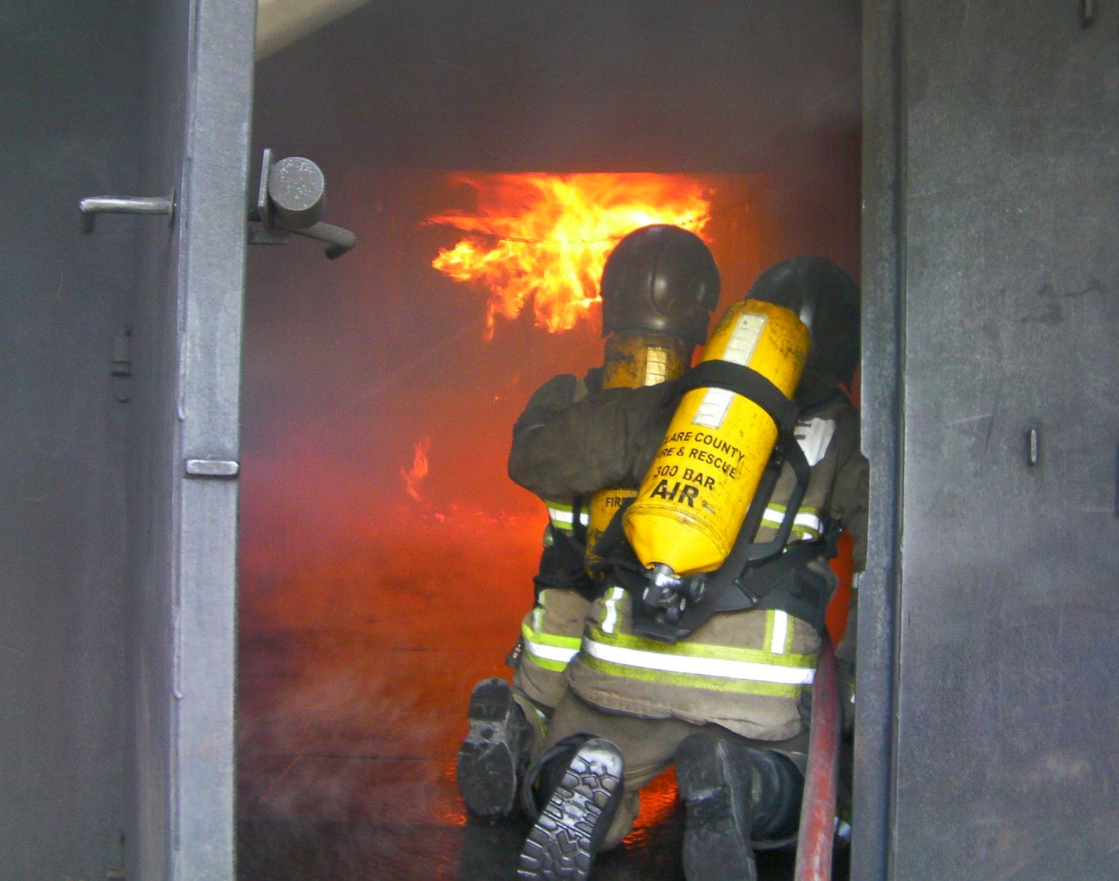 IMAGE Clare Firefighters on fire training course in Ballinrobe