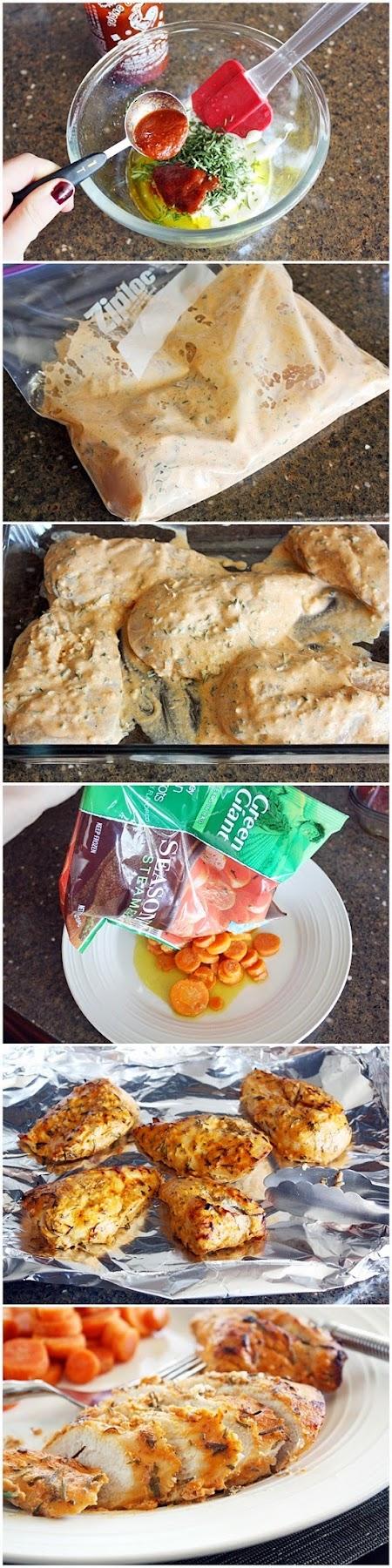 How To Make Crispy Sriracha Chicken