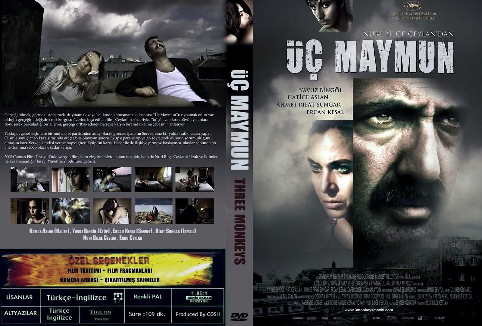 HD Online Player (nuri Bilge Ceylan Kasaba 720p 12golk) %C3%BC%C3%A7-maymun-three-monkeys-dvd-kapak