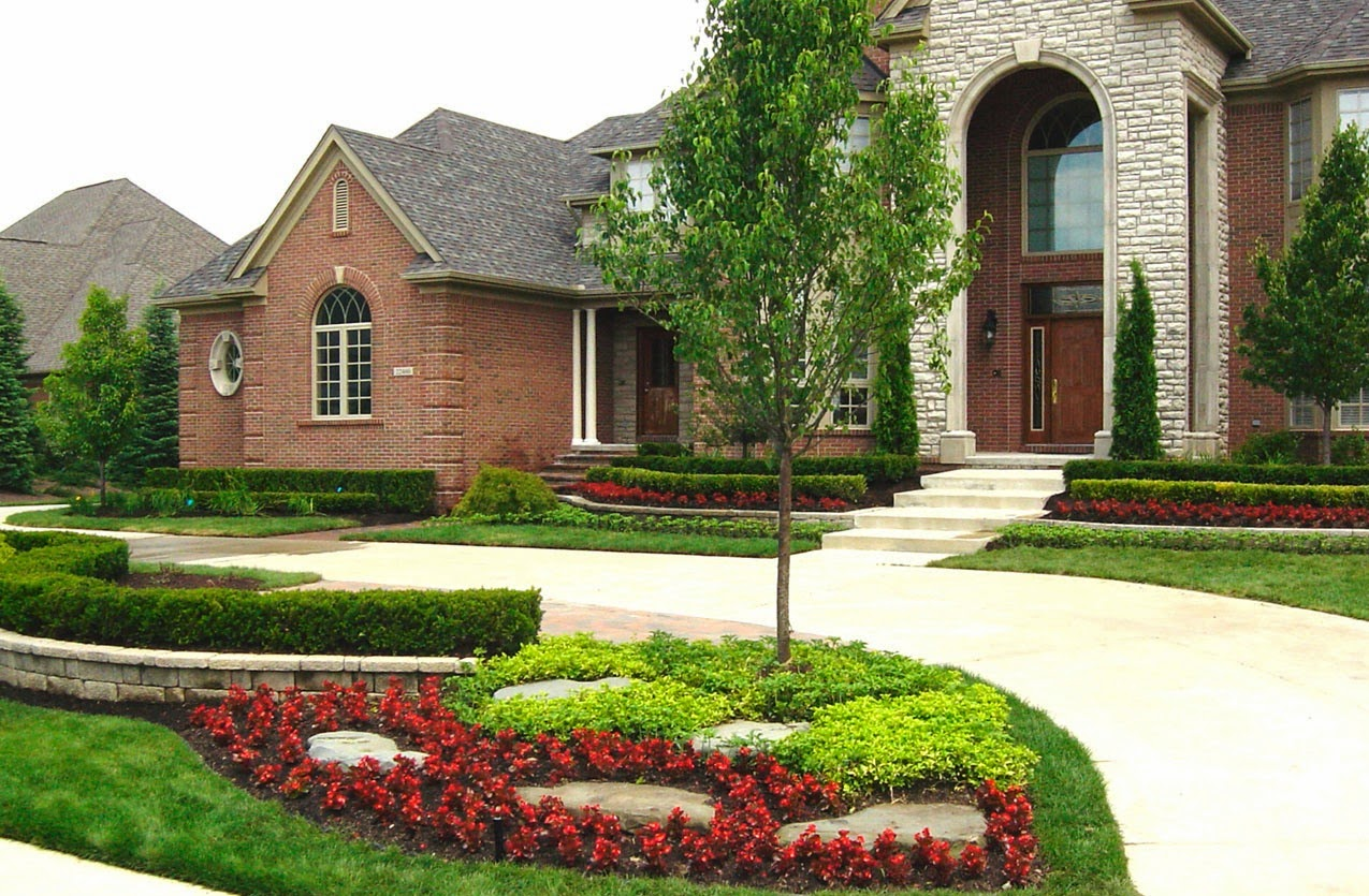 Landscaping Front of House