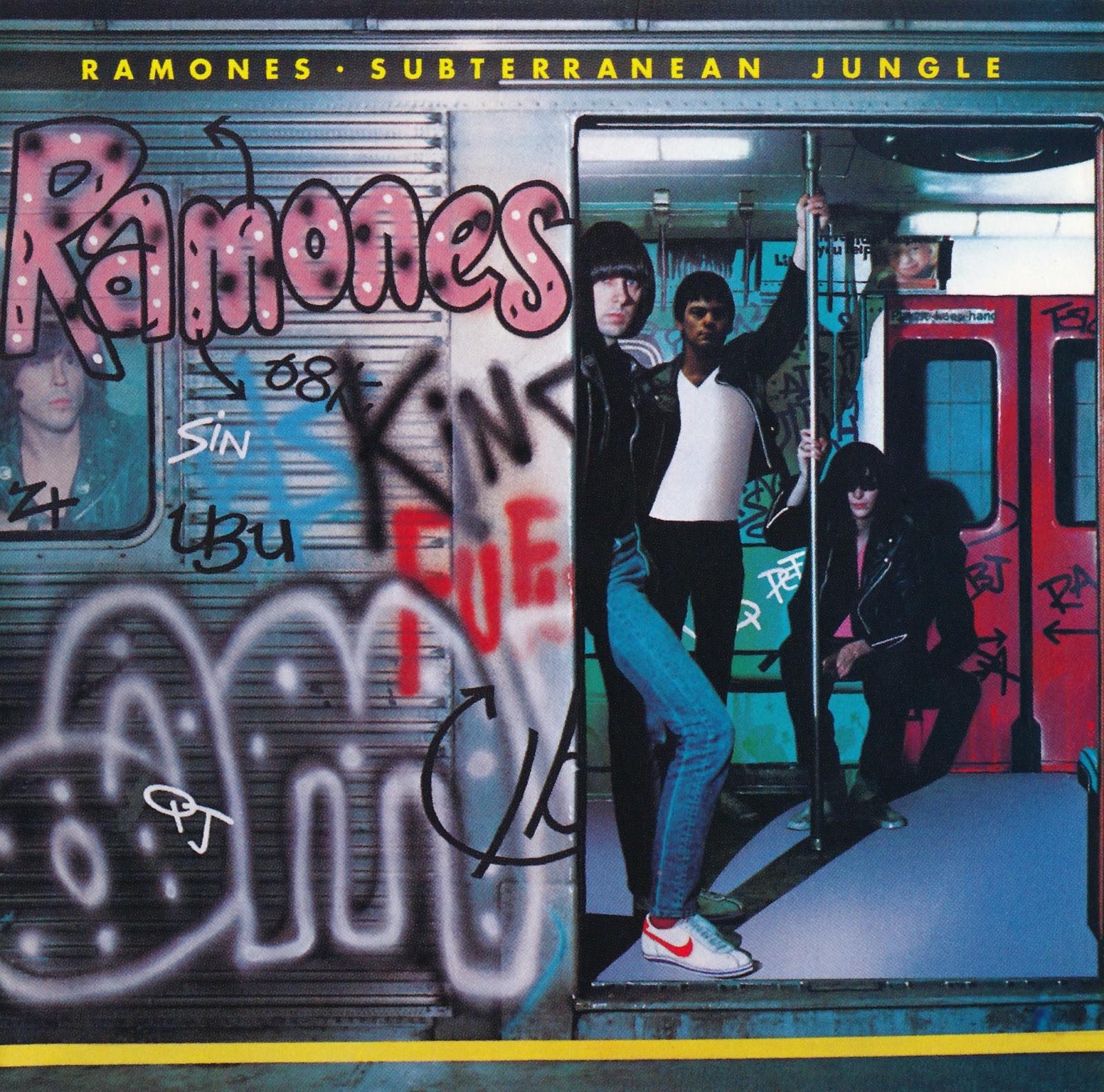 The Ramones' 1983 album 'Subterranean Jungle.'
