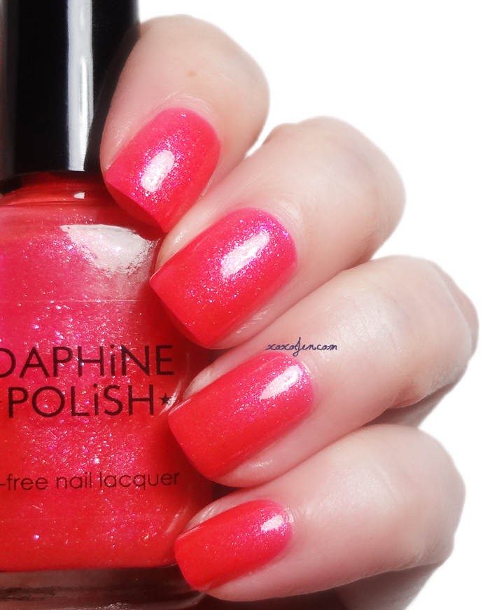 xoxoJen's swatch of Daphine Electric Rose