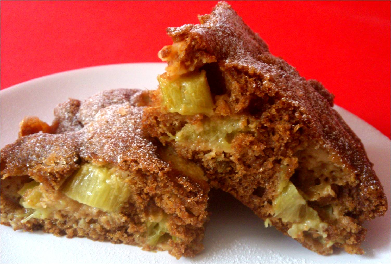 Utterly Scrummy Food For Families: Rhubarb Ginger Cake