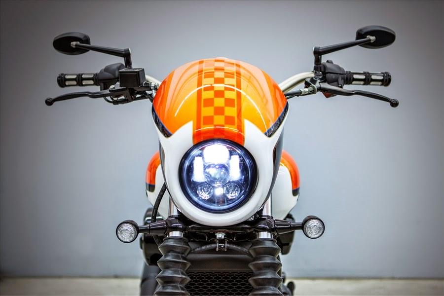 Racing Cafè: Harley Street 750 by Harley-Davidson Bielefeld - Battle ...
