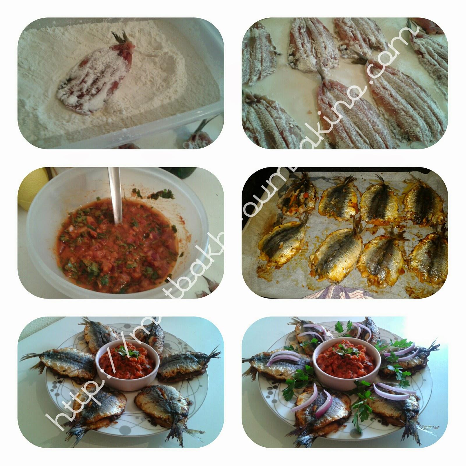 Sardine a la marocaine et sa charmoula au four matbakh-oumzakino