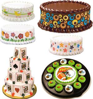 طابعة التورتة والكيك وجميع منتجات صناعة التورتة والحلويات الأمريكية