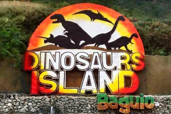 Backpacking Philippines and Asia Dinosaurs Island Baguio