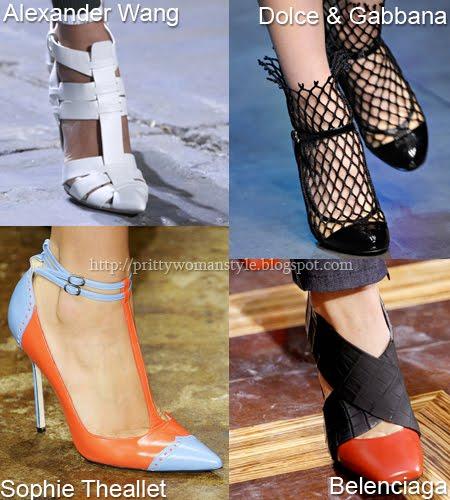 Заострени обувки Пролет/Лято 2012