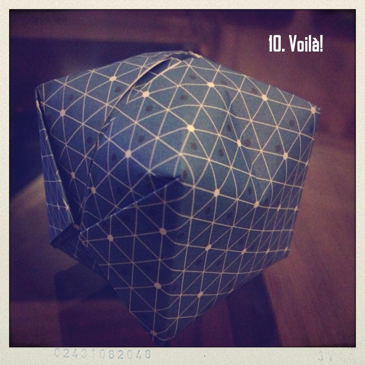 le grand bazaar guirlandes de cubes origami tuto inside. Black Bedroom Furniture Sets. Home Design Ideas
