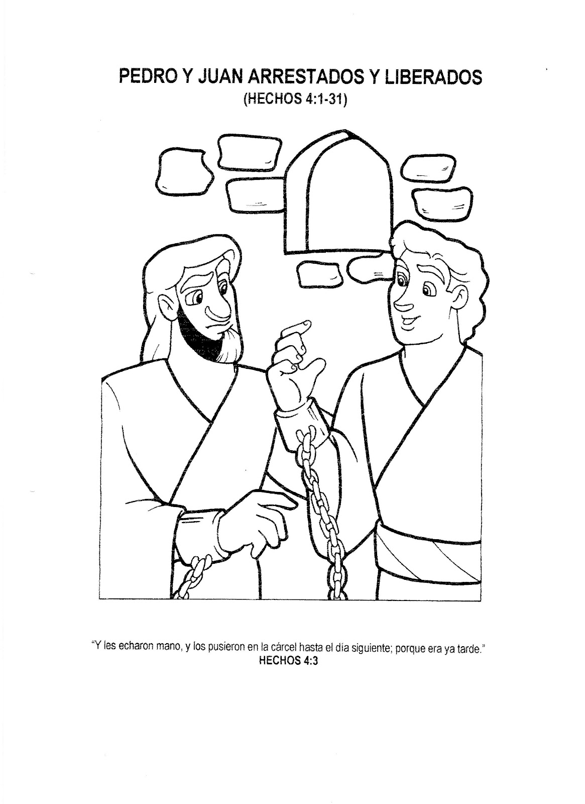 Free jesus arrest coloring pages