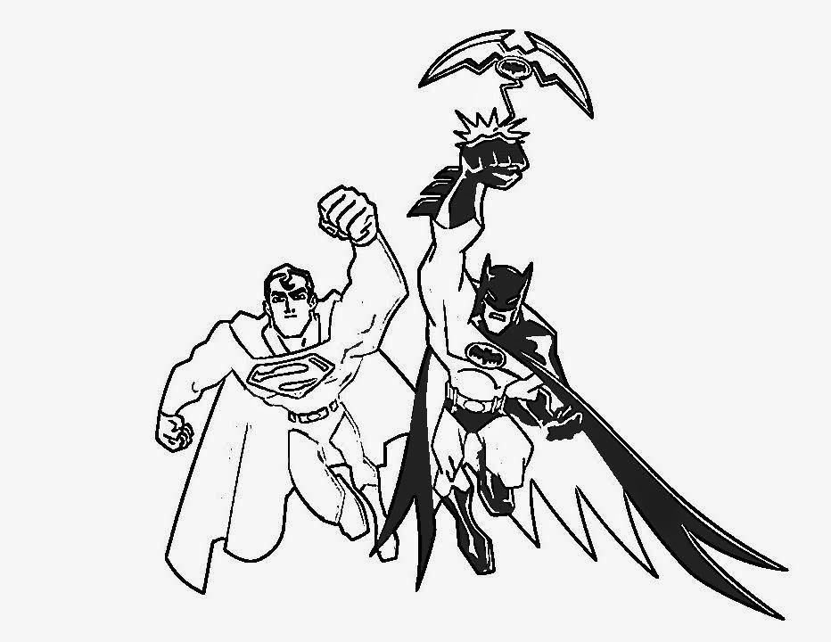 Desenhos do Os Super Hérois para colorir - imagens para colorir super herois