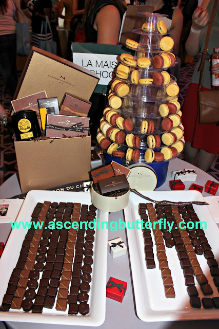 La Maison Du Chocolat, Chocolate, Macaroons, Wedding Salon Bridal Tradeshow/Expo, New York City