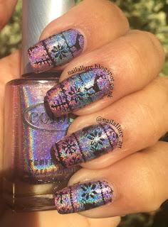 Color Club Halo Hues Miss Bliss, Over the Moon, Eternal Beauty, MoYou London Festive 04