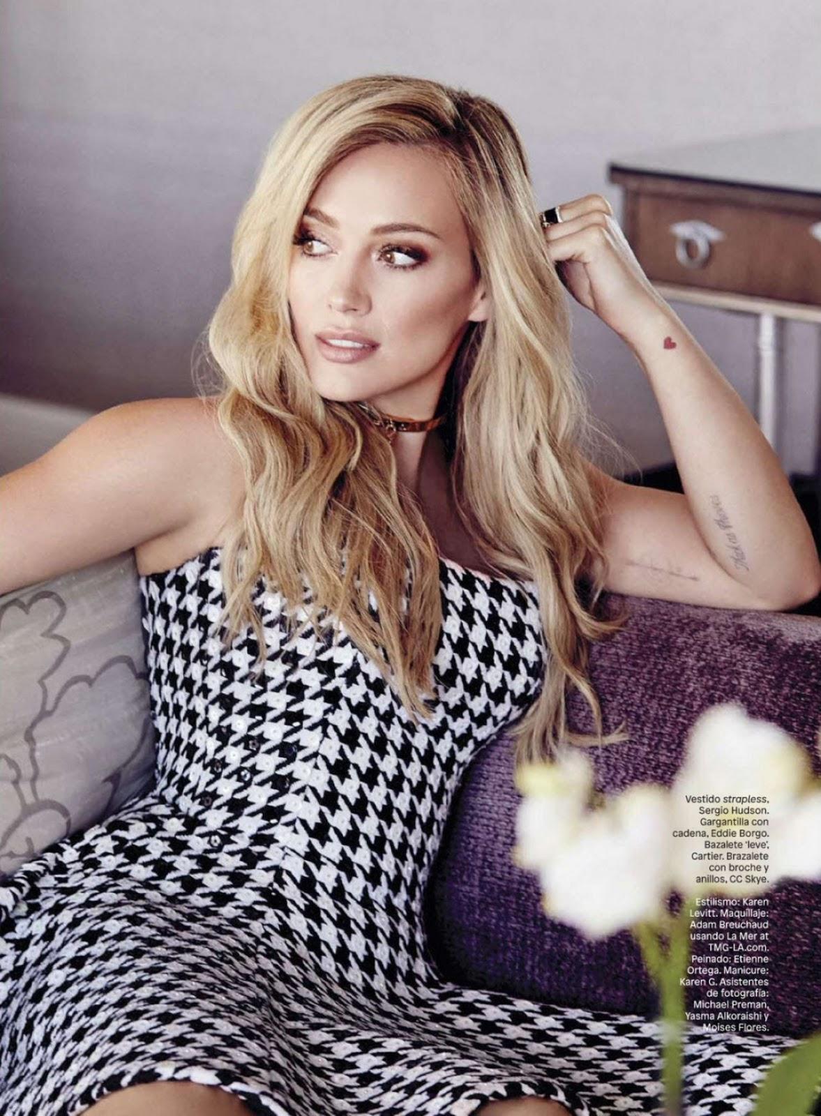 Arts Cross Stitch: Actress, Singer @ Hilary Duff - Glamour ... Hilary Duff