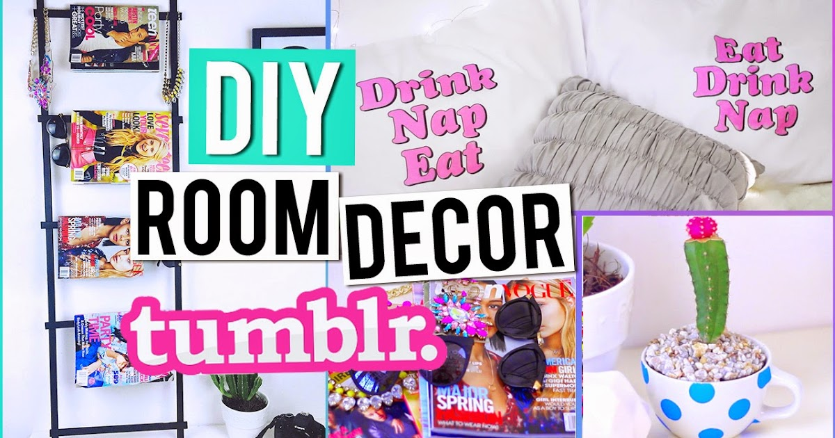 Hellomaphie diy tumblr room decorations for Room decor you can make