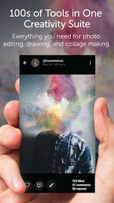 PicsArt Photo Studio 5.12.1 APK for Android 2016