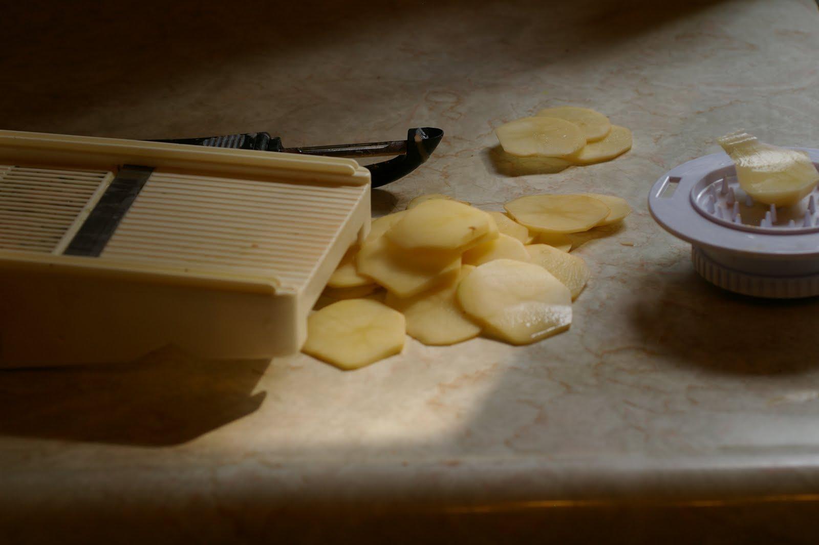My Catholic Kitchen » Cast Iron Skillet Potato Cake
