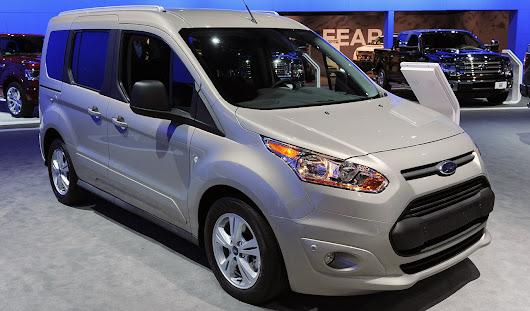 Yeni nesil Ford Transit Connect'in Kuzey Amerika pazarı için