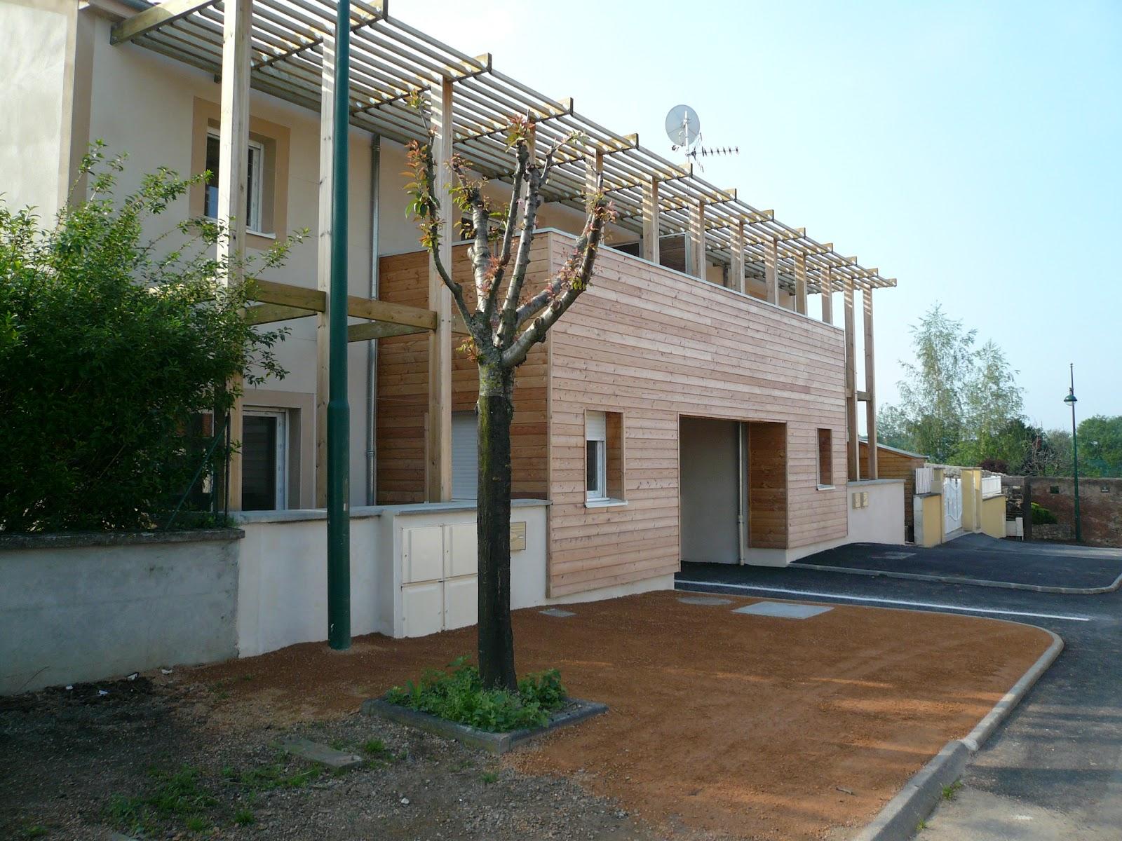 Chantier logements dallet 63 chm architectes for Chantier architecte