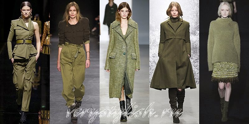 Women's Clothes Fall-Winter 2014-2015 Fashion Trends