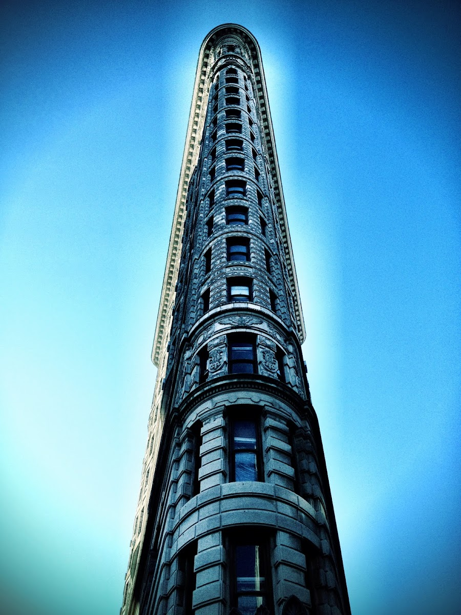 The Flatiron Building, New York, taken using Camera+