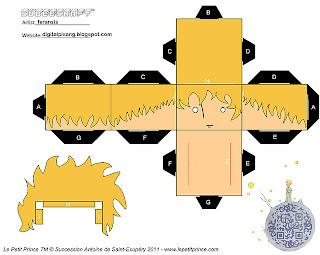 brinquedos de papel em 3D para imprimir e montar ativiade educação infantil