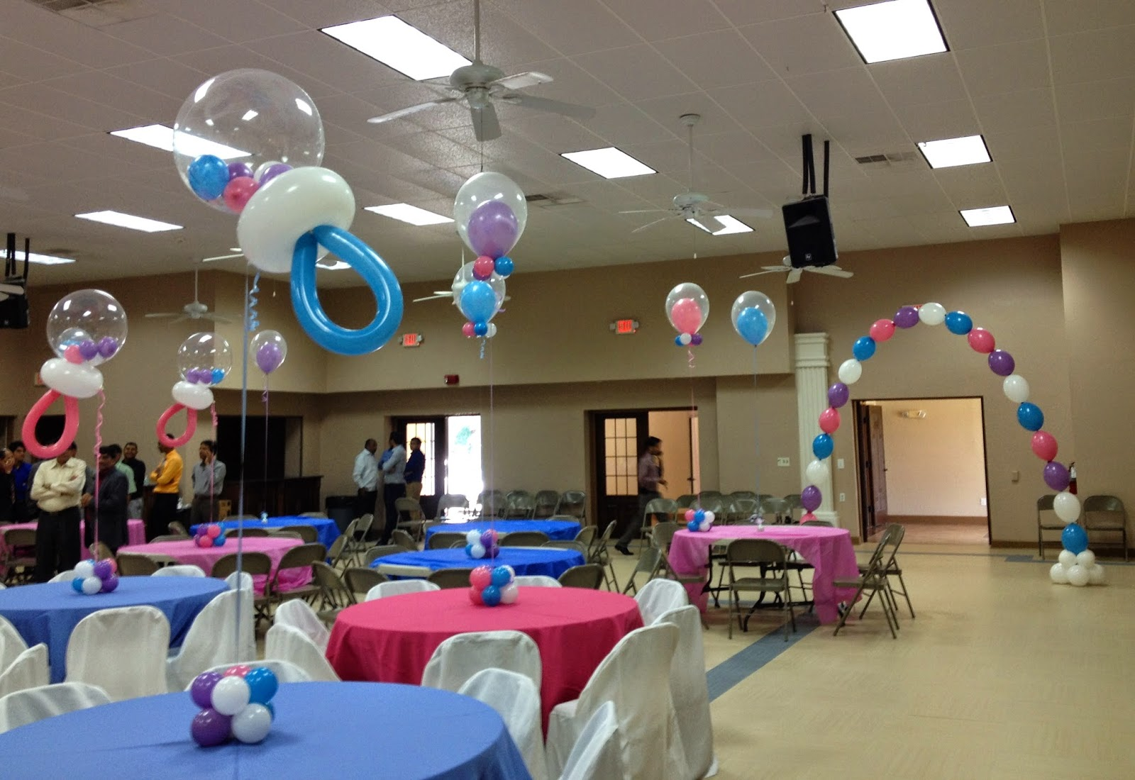 Party people event decorating company rattle and double