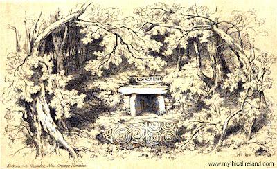 Newgrange sketch from 1966