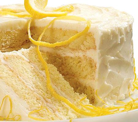 Lemon Layer Cake With Campari Frosting Recipes — Dishmaps
