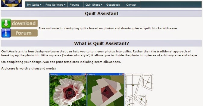 Sewlittletosay Quilt Assistant Free Quilt Designing Software