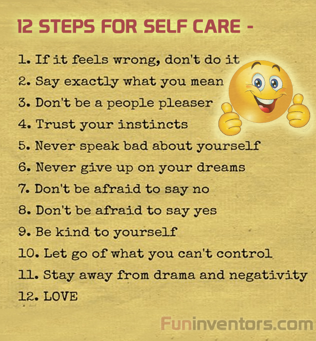 Steps for Self care