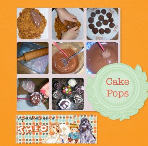 Cake Pop - Aprendendo com o Theo