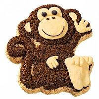 печенье в виде обезьяны