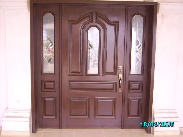 for Disenos puertas de madera exterior