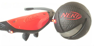 Lighted Hyper Bounce Ball, Lighted NERF Sports Frames