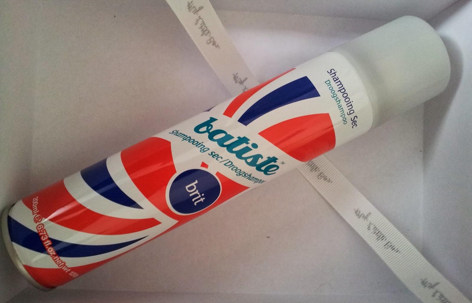 my little london box mars 2014 produit shampoing  sec batiste