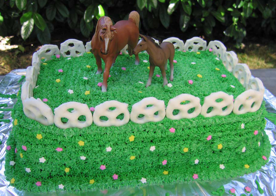 Easy Horse Cake Ideas