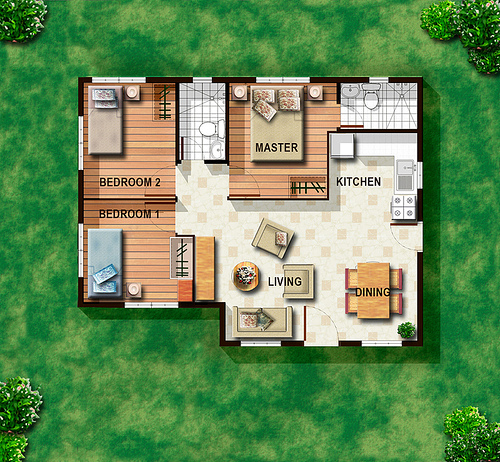 Simple small house plans in the philippines joy studio for Small house plans in philippines