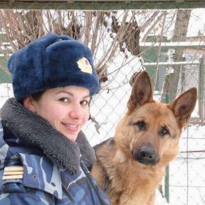 polícia feminina da russia