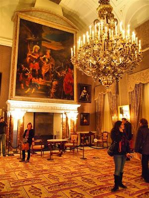Palacio Real de Amsterdam (Koninklijk Paleis) - Sala del Consejo del Burgomaestre
